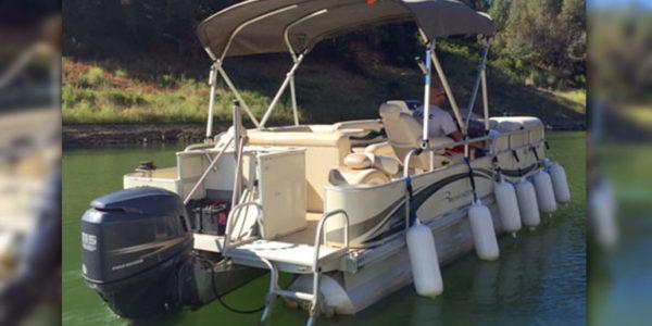 Pontoon Boat Rentals Lake Berryessa